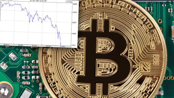0bbaa99c Mniej niż 13 tysięcy dolarów - tyle dziś rano wynosiła cena bitcoina.  Wycena wirtualnej waluty w zaledwie kilka godzin obniżyła się o 3 tysiące  dolarów.