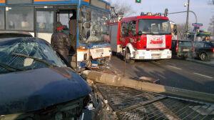 Praga stanęła po wypadku