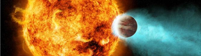 Gwiazda jak Słońce prawie rozerwała planetę