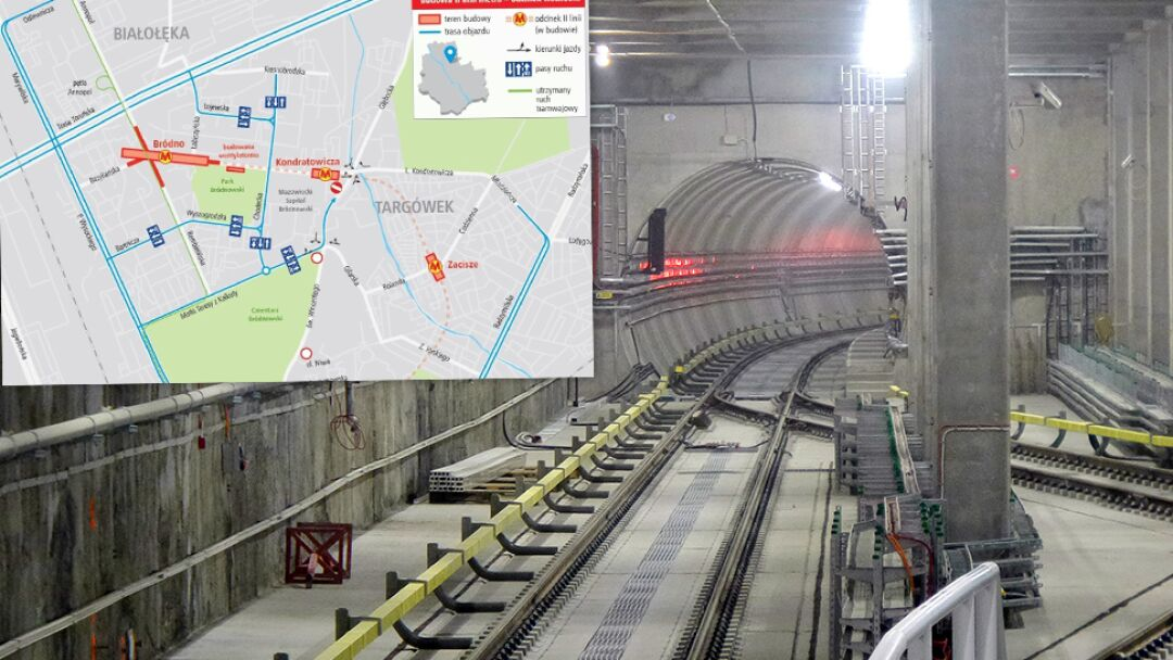 Budowa Metra Na Brodnie Na Trzy Lata Zamykaja Kondratowicza Targowek