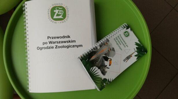 Przewodnik dla niewidomych  warszawskie zoo
