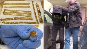 CBŚP odzyskało skradzioną biżuterię i monety warte 600 tysięcy złotych