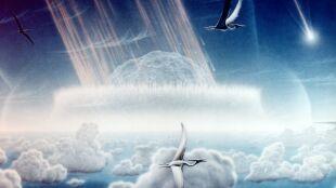 """Asteroida, która zmieniła świat. Uderzyła pod """"najbardziej śmiercionośnym kątem"""""""