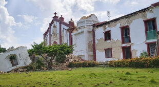 Trzęsienie ziemi na Filipinach (PAP/EPA/DOMINIC DE SAGON ASA HANDOUT)