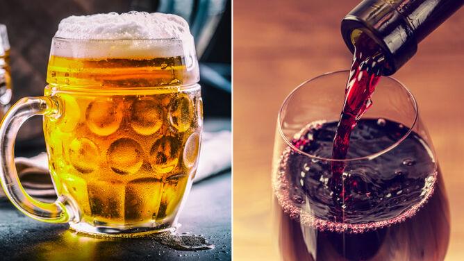 Alkohol tuczy bardziej niż słodzone napoje