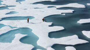 Klimat kaprysi. W Arktyce cieplej, na kontynentach chłodniej
