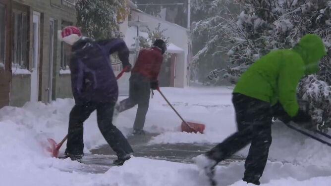 W amerykańskiej Montanie spadł śnieg